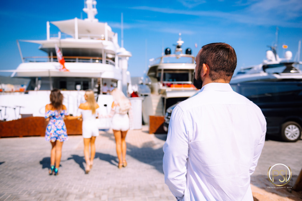 Private Security Ibiza Maritime yacht Securtiy services